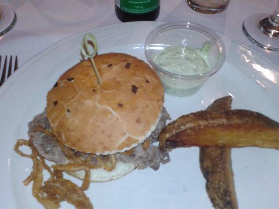 Sun Valley, NV: Beer Braised Prime Rib Sandwich