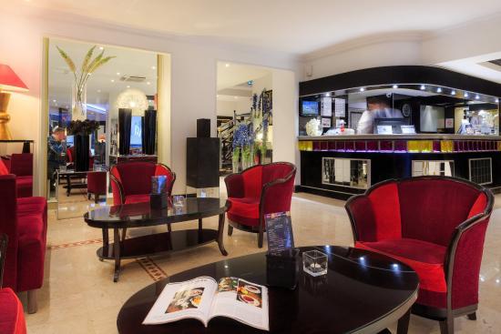 Best Western Plus Hotel Massena Nice: Lobby At Hotel Massena Nice