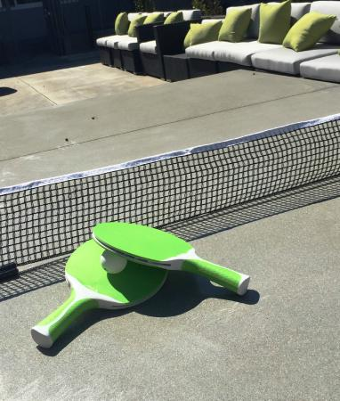 Menlo Park, CA: Hotel Lucent - Ping Pong Table & Conference Table