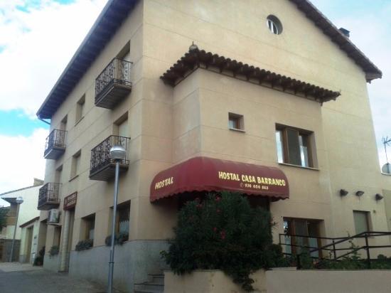 Hostal Casa Barranco: Entrada