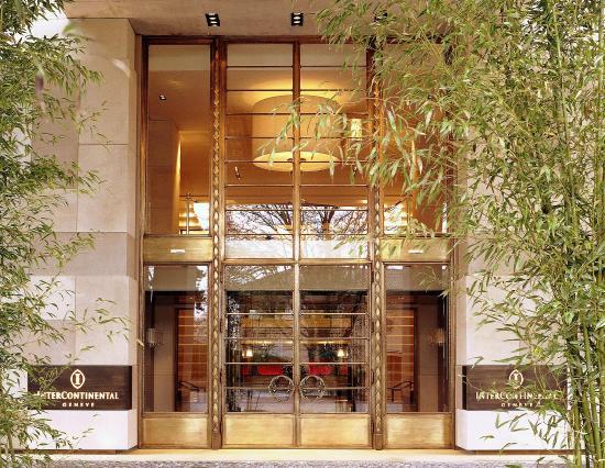 Hotel InterContinental Geneve : Main Entrance