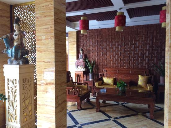 Zhuxiangju Hotel: Lobby. Lobby With Traditional Chinese Furniture