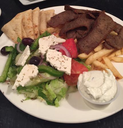 Gyro platter picture of ammos virginia beach tripadvisor for Ammos authentic greek cuisine