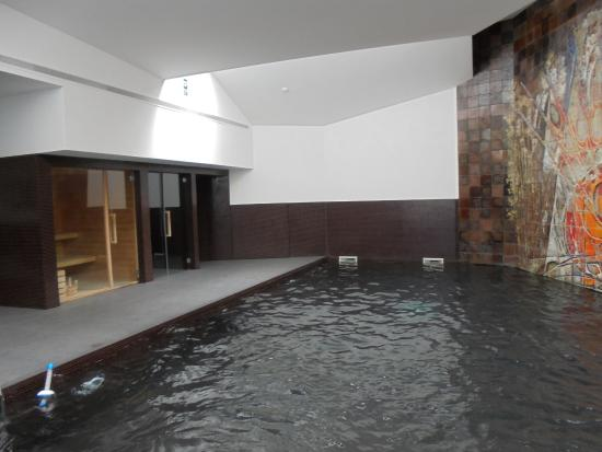 Estupenda piscina con jacuzzi obligatorio gorro for Piscinas viana