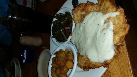 Whitney, TX: Chicken Fried Steak!