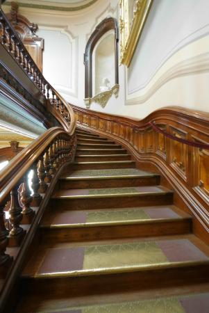 Crazy old gallery building stairs Picture of Crocker Art Museum