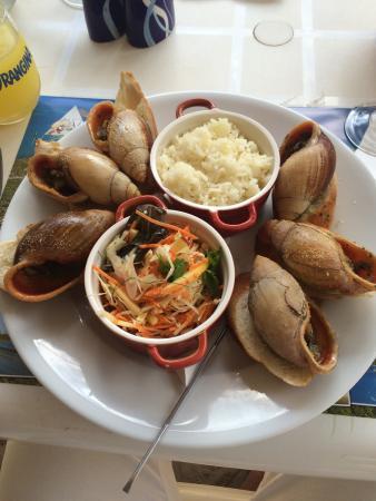 Journ e atole nokanhui ilot moro et repas langouste for Ilot repas