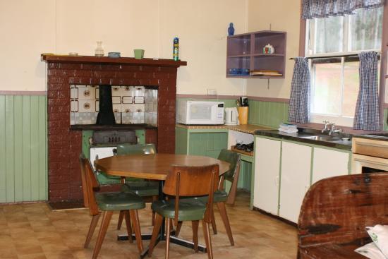 Donnelly River Village: Old cottages