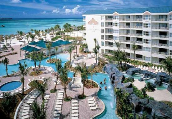 Marriott's Aruba Ocean Club: Aerial View