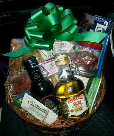 Cortlandt Manor, Νέα Υόρκη: Christmas gift basket