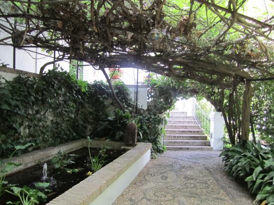 Carmen de la Victoria: Vista de un sector ubicado al inicio del recorrido hacia los interiores del Carmen.