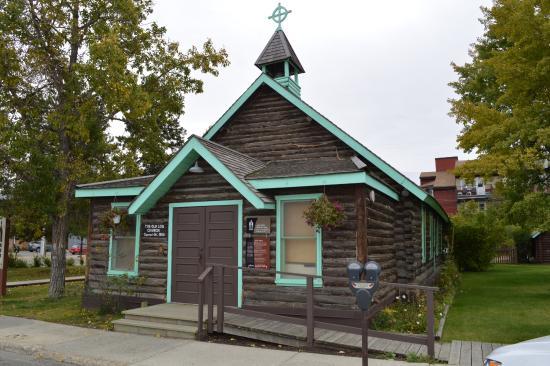 Old Log Church Museum: Old Log Chrurch Whitehorse Yk
