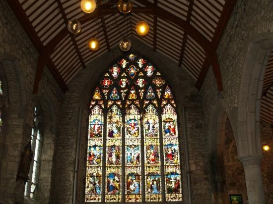 Kilkenny, Ireland: Magnificent Rosary Window