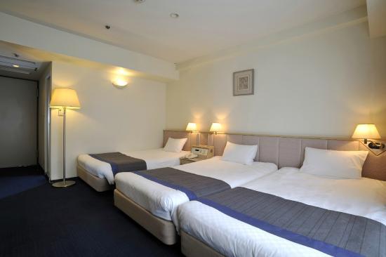 Hotel New Hankyu Kyoto: トリプルルーム