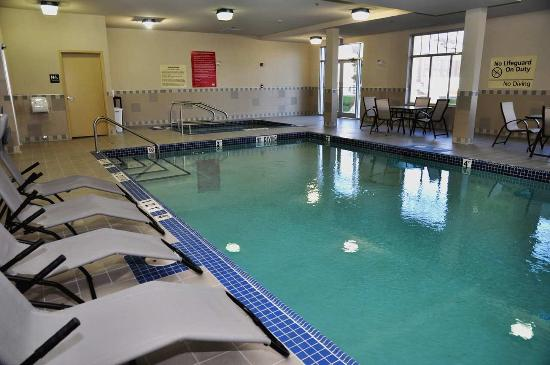 Hampton Inn by Hilton Edmonton/South: Pool