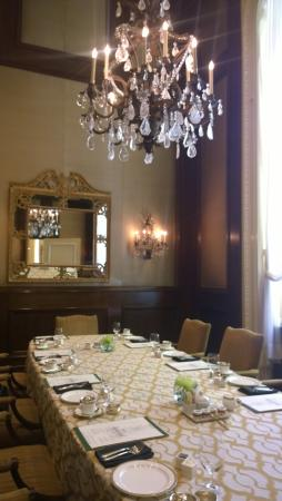 Private Dining Room Picture Of The Fairmont Olympic