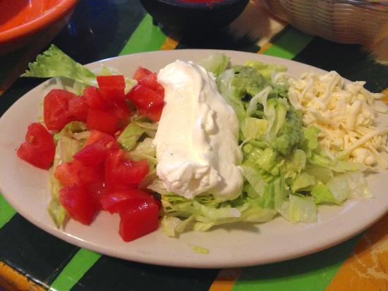 Margarita's Mexican Restaurant: Side that came with Camarones al Mojo de Ajo