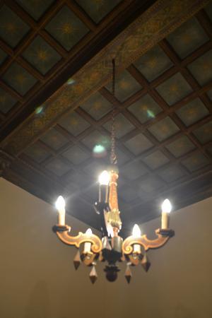 Istituto Suore S. Giovanni Battista - Villa Merlo Bianco: Villa Merlo Bianco-stars on the ceiling