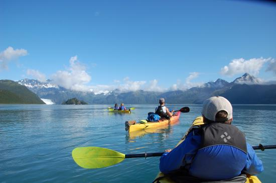 Allens Alaska Adventures: Kayaking