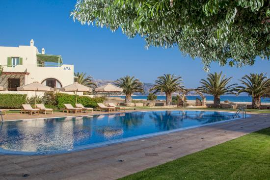 Finikas Hotel Naxos: Pool & Sea View