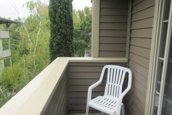 Balcony, Best Western Bard's Inn, Ashland, Oregon