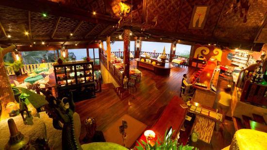 Jamahkiri Resort & Spa: Restaurant View