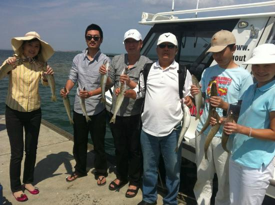 Bagout Tuna Fishing Charters: Westernport Whiting catch at Hastings