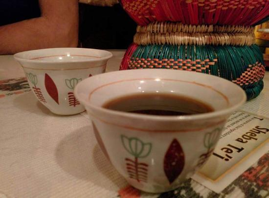 Queen of Sheba: Ethiopian coffee in their traditional cups