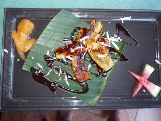 Jangal Cafe: menu a base de fruits