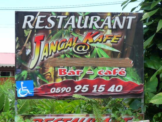 Jangal Cafe: resto sous le soleil