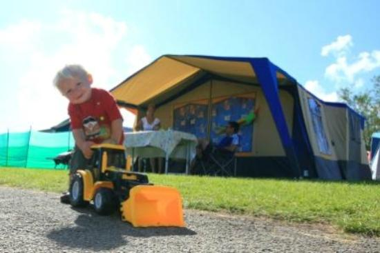 Trenance Holiday Park: Camping