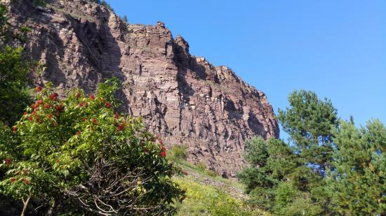Shamanskiy Cliff: Утёс