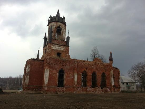 Andrianovo, Russie : Храм в усадьбе Марьино