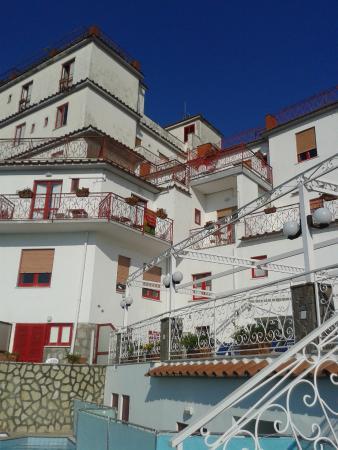 Hotel Dania : Un hôtel familial avec beaucoup de vues sur la mer