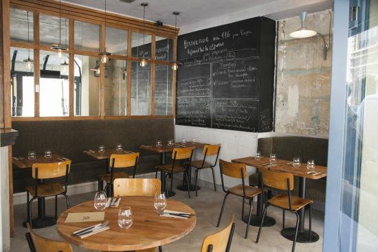 restaurant 116 picture of le 116 by pages paris tripadvisor