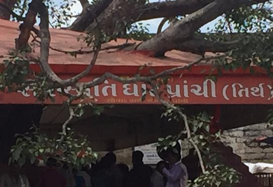 Somnath, Indie: prachi tree