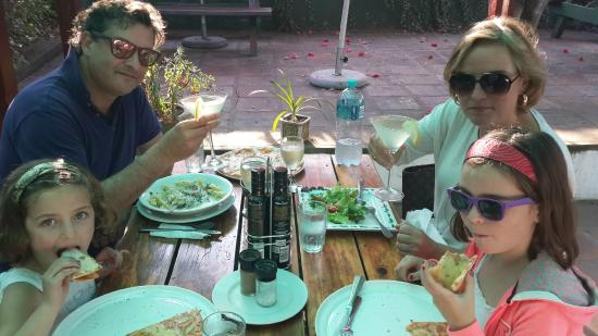 Woodpecker Pizzadeli: Kids always welcome at Woodies :)