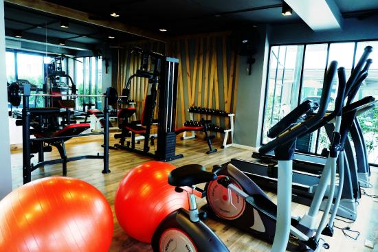 Pluak Daeng, Thailand: Gym room