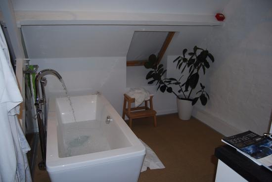 Eleven Bed & Breakfast: bath in attic room