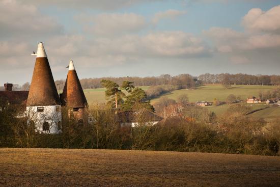 Flimwell, UK : Oast house