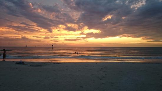 Hyatt Regency Clearwater Beach Resort & Spa: sunset