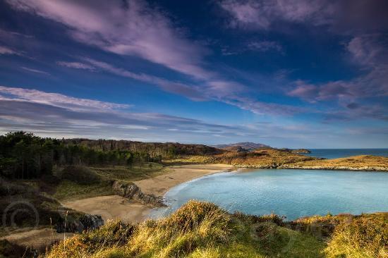 Creeslough, Irlandia: Luckyshell Beach, Ards