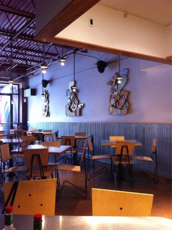Interior - Chipotle Mexican Grill: ;D
