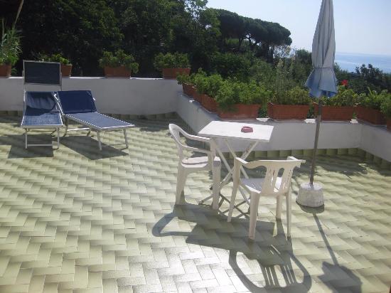 Panza, Italien: terrazzo
