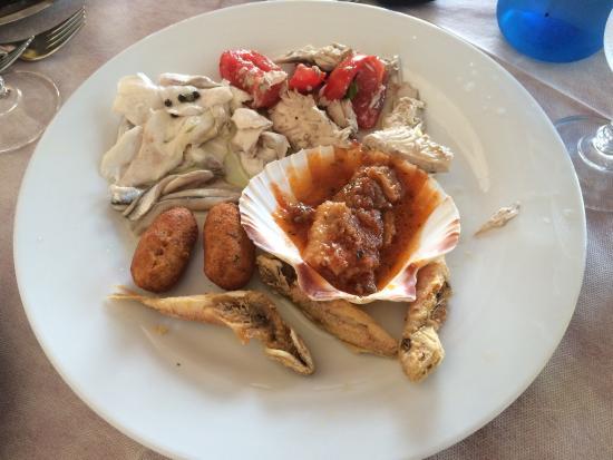 L'Ancora: Ein super Restaurant mit viel Auswahl und tollem Fisch. Freundliche Bedienung und alles super ge