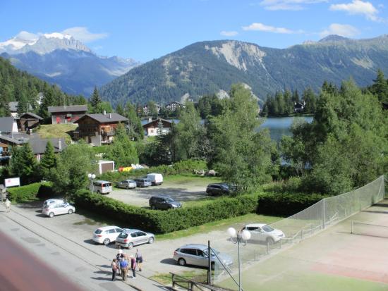 Hotel du Glacier : vue de l'hotel