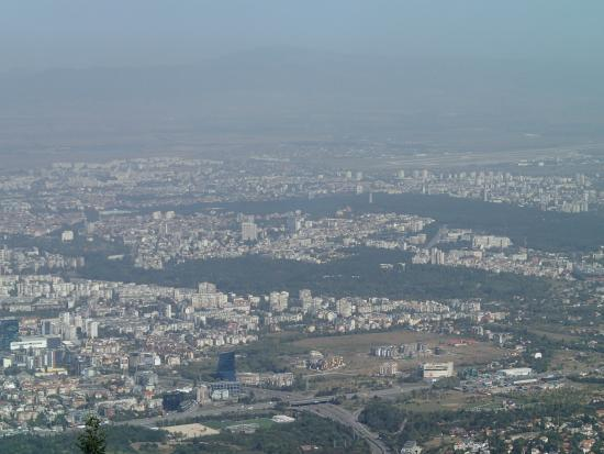 Vitosha Mountain: The view from the TV Tower