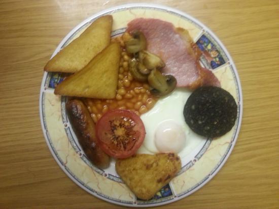 The New Alvon Hotel : full english breakfast