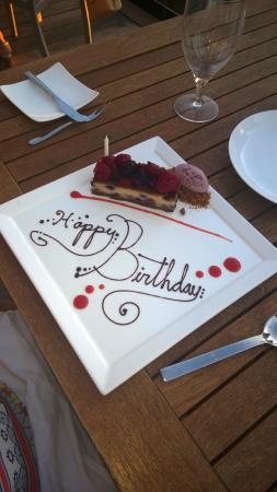 Forty 1⁰ North Hotel and Marina Resort: Birthday