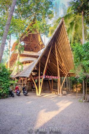 Bambu indah réception bambu indah intérieur de la maison de bambou